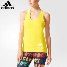 light pink adidas sweatshirt women adidas stellasport sport logo tank bright yellow light flash