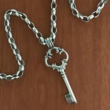 key necklace images Key necklace silver handmade by bowman originals sarasota 941 jpg
