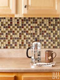how to tile backsplash kitchen how to tile your backsplash free guide better homes and gardens