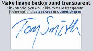 how to make a transparent signature stamp
