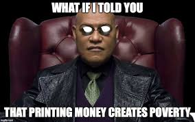 The Matrix Meme - monday morning matrix meme achieving power printing money