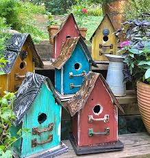 church birdhouses rustic birdhouse vintage barn wood bird