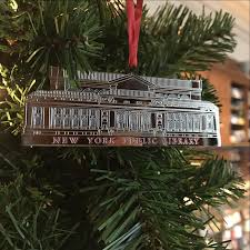 building ornament the new york library shop
