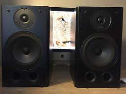 Best Polk Audio Bookshelf Speakers Polk Audio Rt5 Studio Bookshelf Speakers Unknown Black Grey Reverb