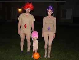 treasure trolls troll costume for halloween family costumes
