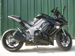 2011 kawasaki ninja zx1000 black all stock except for a smoke
