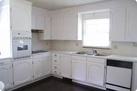 paint stained kitchen cabinets painting oak cabinets white an amazing transformation