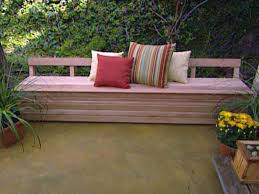 Diy Storage Bench Plans by 102 Best Deck Bench Plans Images On Pinterest Deck Benches