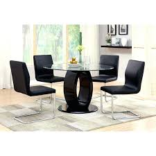 Round Glass Top Pedestal Table Round Glass Top Dining Table Set Dining Table Set With Glass Top
