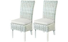 white washed dining set dining room white braid rattan rattan