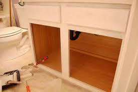 outstanding diy bathroom cabinet with dual door integrated satin