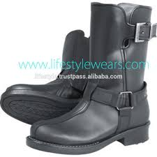 red motorbike boots red motorcycle boots motorcycle police boots mens leather
