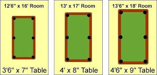 9 foot pool table dimensions pool table dimensions image of pool table sizes 7 foot pool