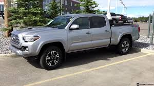 Toyota Tacoma Double Cab Long Bed 2016 Toyota Tacoma Double Cab Trd Sport Long Bed In Silver Youtube