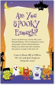 spooky halloween birthday invitations paperdirect blog
