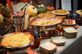 thanksgiving spread feast on this