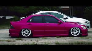 lowered lexus is300 deweyloud oni camber is300 youtube