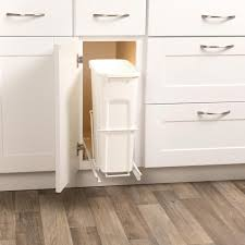 Kitchen Garbage Cabinet Real Solutions For Real Life 14 37 In X 16 In X 17 43 In 20 Qt