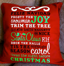 obsessed with scrapbooking subway art christmas pillow with