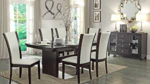 modern formal dining room sets entranching modern formal dining room sets with leather chairs and