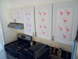 Temporary Contact Paper Kitchen Cabinet Decorations Pink Stripey - Contact paper for kitchen cabinets
