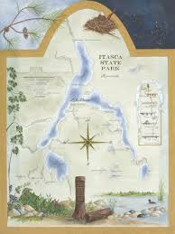 Mn State Parks Map Itasca State Park Map Park Rapids Lakes Area Arts Council