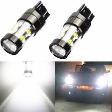 Cree Dimmable Led Light Bulbs by Jdm Astar 50w Cree 7443 7440 Led White Turn Signal Tail Brake Stop