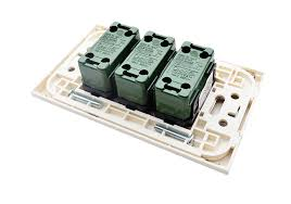 omni wide series flush type switches u0026 outlets