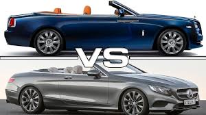 bentley wraith convertible 2016 rolls royce dawn vs 2017 mercedes benz s class cabriolet
