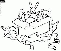 Christmas Gifts Christmas Presents Coloring Pages Printable Games