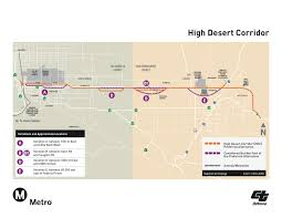 Valley Metro Light Rail Map by Measure M The High Desert Corridor The Source