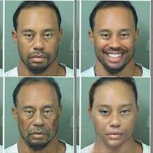 Meme Face App - i uploaded tiger woods mugshot onto faceapp meme guy