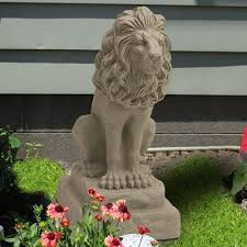 lion statue emsco guardian lion statue reviews wayfair