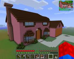 minecraft simpsons house minecraft pinterest minecraft ideas