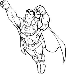superman coloring pages fotolip com rich image and wallpaper