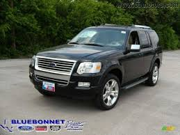 Ford Explorer All Black - 2009 black ford explorer limited 13163669 gtcarlot com car