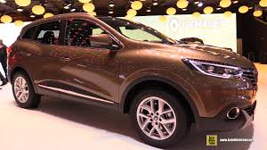renault kadjar interior 2016 renault kadjar exterior and interior walkaround 2015