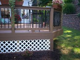 porch skirting ideas to cover unappealed space porch underneath