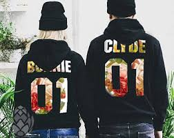 bonnie and clyde etsy