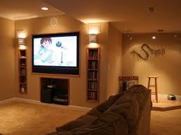 interior imposing basement living room remodeling design ideas
