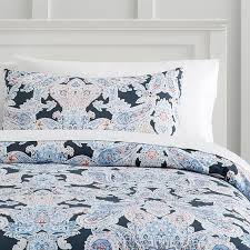 Gray Paisley Duvet Cover Luna Paisley Duvet Bedding Set With Duvet Cover Duvet Insert