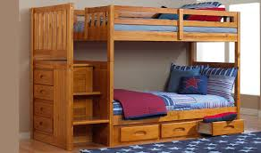 one honey twin twin staircase bunk bed and one 6 drawer