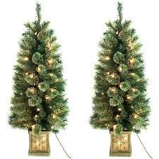 4 pre lit christmas tree christmas decor