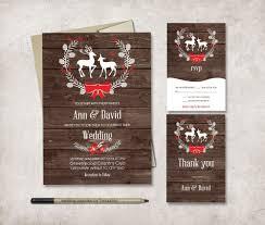 Christmas Wedding Invitations Winter Wedding Invitation Printable Wedding Invitation Suite