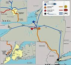 Syracuse Ny Map Officials Cargo Distribution Center Could Create 2 000 Central