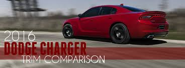 dodge challenger se vs sxt 2016 dodge charger se vs sxt