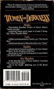 spirit halloween gresham too much horror fiction women of darkness edited by kathryn