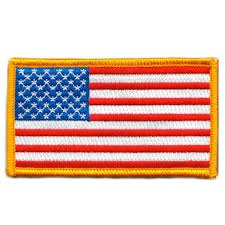 American Flag Morale Patch 2
