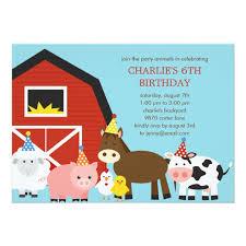 farm birthday invitations frenchkitten net