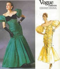 Prom Dresses From The 80s 711 Best 1980s Sewing Patterns Images On Pinterest 1980s